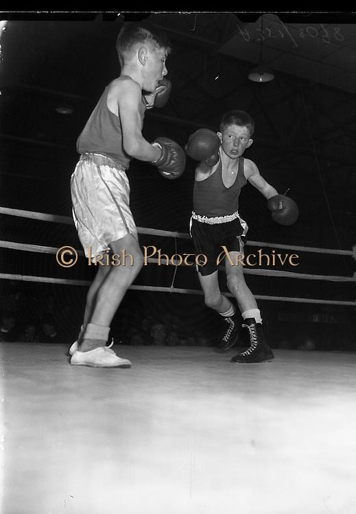 24/04/1957<br /> 04/24/1957<br /> 24 April 1957<br /> <br /> Boxing - National Juvenile Championship Semi-Finals