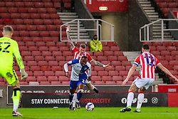 Ryan Nyambe of Blackburn Rovers surges into Stoke's penalty area - Mandatory by-line: Nick Browning/JMP - 19/12/2020 - FOOTBALL - Bet365 Stadium - Stoke-on-Trent, England - Stoke City v Blackburn Rovers - Sky Bet Championship