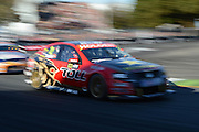 Holden Racing team's Garth Tander in action during  Race 5 of the ITM 400 Hamilton,Hamilton Street Circuit, Day Two, Hamilton City ,V8 supercars,, Photo: Dion Mellow / photosport.co.nz