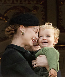 November 19, 2019, Monaco, Monaco: 19-11-2019 Monte Carlo Beatrice Borromeo and her son Francesco Casiraghi during the Monaco national day celebrations in Monaco. (Credit Image: © face to face via ZUMA Press)