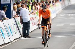 Dzmitry ZHYHUNOU of EUSKALTEL - EUSKADI during 1st Stage of 27th Tour of Slovenia 2021 cycling race between Ptuj and Rogaska Slatina (151,5 km), on June 9, 2021 in Slovenia. Photo by Vid Ponikvar / Sportida
