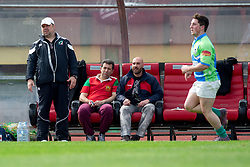 head coach of Bulgaria, during rugby match between National team of Slovenia (green) and Bulgaria (white) at EUROPEAN NATIONS CUP 2012-2014 of C group 2nd division, on April 12, 2014, at ZAK Stadium, Ljubljana, Slovenia. (Photo by Matic Klansek Velej / Sportida.com)