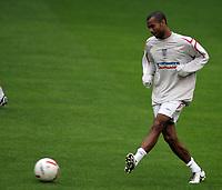 Photo: Paul Thomas.<br /> England training at Carrington. 30/08/2006. <br /> <br /> Ashley Cole.