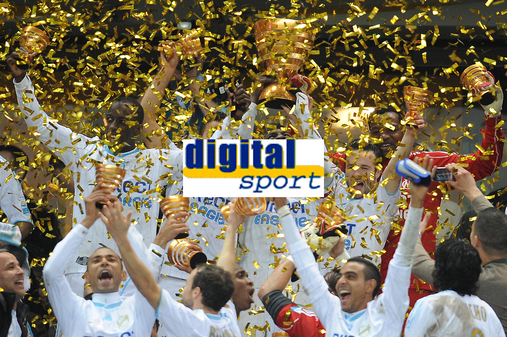 FOOTBALL - FRENCH LEAGUE CUP 2009/2010 - FINAL - OLYMPIQUE MARSEILLE v GIRONDINS BORDEAUX - 28/03/2010 - PHOTO FRANCK FAUGERE / DPPI -