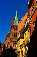 Street scene, Freiburg, Baden-Württemberg, Germany