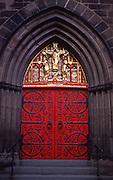 Historic Philadelphia, Church of the Holy Trinity Door, Rittenhouse Square, Philadelphia, PA
