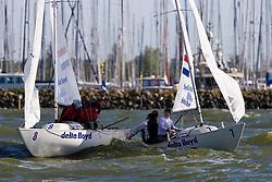 Medemblik - the Netherlands, May 29th 2009. Delta Lloyd Regatta in Medemblik (27/31 May 2009). Day 3.