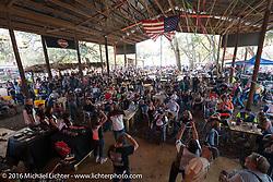 Awards ceremony for the Harley-Davidson Editors Choice bike show at the Broken Spoke Saloon. Daytona Bike Week 75th Anniversary event. FL, USA. Wednesday March 9, 2016.  Photography ©2016 Michael Lichter.