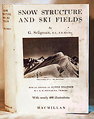 SKIING, AVALANCHES, COLD WEATHER MEDICINE and MOUNTAIN RESCUE BOOK GALLERY