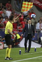 September 19, 2018 - Na - Lisbon, 19/09/2018 - SL Benfica received FC Bayern Munich tonight at the Luz stadium in the first leg of the group stage of the 2018/1900 Champions League. Niko Kovac  (Credit Image: © Atlantico Press via ZUMA Wire)