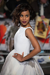 © licensed to London News Pictures. London, UK 10/01/2013. Kerry Washington attending UK premiere of Django Unchained in Leicester Square, London. Photo credit: Tolga Akmen/LNP