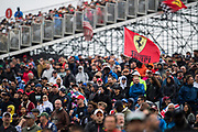 October 18-21, 2018: United States Grand Prix. Fans in the general admission area at COTA