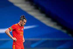 NICE, FRANCE - Wednesday, June 2, 2021: Wales' captain Gareth Bale looks dejected during an international friendly match between France and Wales at the Stade Allianz Riviera ahead of the UEFA Euro 2020 tournament. (Pic by Simone Arveda/Propaganda)