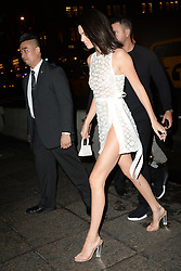 May 3, 2018 - New York, NY, USA - May 3, 2018  New York City..Kendall Jenner attending Tiffany & Co. 'Paper Flowers' jewelry collection launch on May 3, 2018 in New York City. (Credit Image: © Kristin Callahan/Ace Pictures via ZUMA Press)