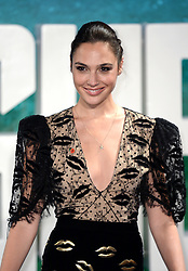 Gal Gadot attending the Justice League Photocall at The College, London. Picture credit should read: Doug Peters/Empics Entertainment