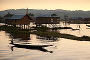 Nam Pan village, Inle lake, Shan state, Myanmar (Burma)