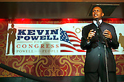 Congressional Candidate Kevin Powell at An evening with Dave Chappelle for Kevin Powell for Congress held at Eugene's on July 9, 2008..Kevin Powell runs as a Democratic Candidate for Congress in Brooklyn's 10th Congressional District