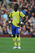Idrissa Gueye of Everton looks on. Premier League match, Burnley v Everton at Turf Moor in Burnley , Lancs on Saturday 22nd October 2016.<br /> pic by Chris Stading, Andrew Orchard sports photography.