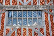 Tudor Window on Old Town Hall Aldeurgh, Suffolk, UK .<br /> <br /> Visit our ENGLAND PHOTO COLLECTIONS for more photos to download or buy as wall art prints https://funkystock.photoshelter.com/gallery-collection/Pictures-Images-of-England-Photos-of-English-Historic-Landmark-Sites/C0000SnAAiGINuEQ