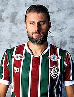 """Brazilian Football League Serie A / <br /> ( Fluminense Football Club ) - <br /> Henrique Adriano Buss """" Henrique """""""