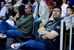 Lojze Milosavljevic at third finals basketball match of Slovenian Men UPC League between KK Union Olimpija and KK Helios Domzale, on June 2, 2009, in Arena Tivoli, Ljubljana, Slovenia. Union Olimpija won 69:58 and became Slovenian National Champion for the season 2008/2009. (Photo by Vid Ponikvar / Sportida)
