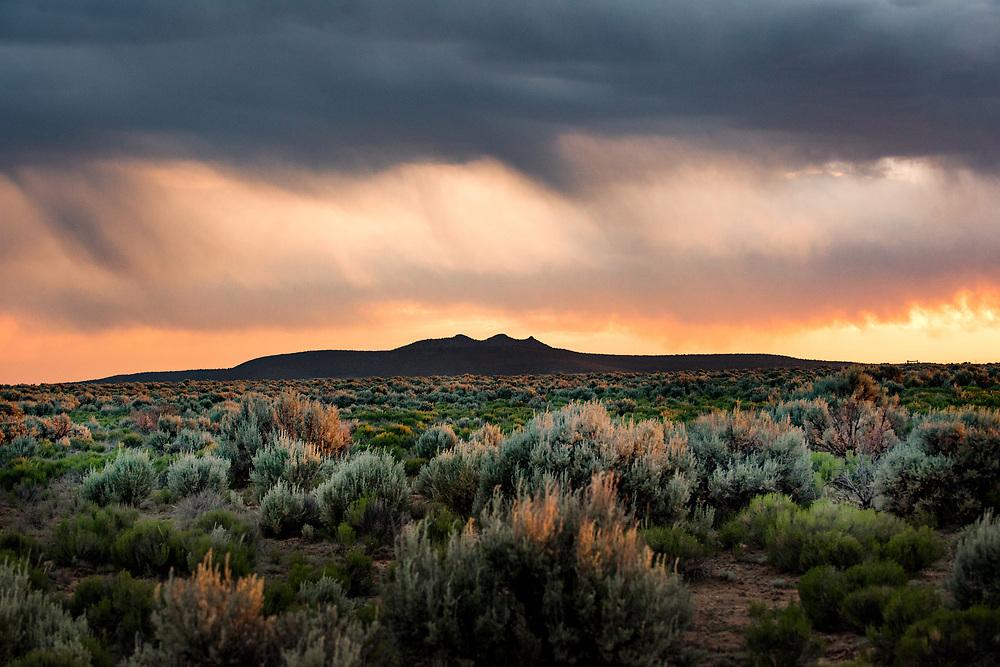 Tres Orejas, Tusas Mountains, Rio Grande Gorge Bridge Trail, Taos County, New Mexico