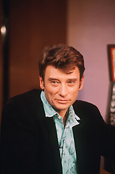File photo : File photo of French singer and actor Johnny Hallyday (born Jean-Philippe Smet; 15 June 1943) pictured in March 1986. France's biggest rock star Johnny Hallyday has died from lung cancer, his wife says. He was 74. The singer - real name Jean-Philippe Smet - sold about 100 million records and starred in a number of films. Photo by Marco-MF/ABACAPRESS.COM