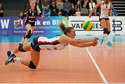 20181024 NED: CL, Sliedrecht Sport - Allianz MTV Stuttgart, Sliedrecht<br />Ana Rekar (11) of Sliedrecht Sport <br />©2018-FotoHoogendoorn.nl / Pim Waslander