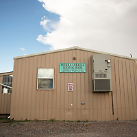 Middle College High School portables on campus at the University of New Mexico-Gallup.