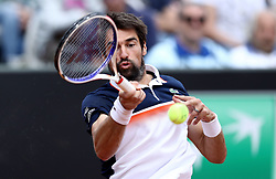 May 14, 2019 - Rome, Italy - Jeremy Chardy (FRA) during the ATP Internazionali d'Italia BNL first round match at Foro Italico in Rome, Italy on May 14, 2019. (Credit Image: © Matteo Ciambelli/NurPhoto via ZUMA Press)