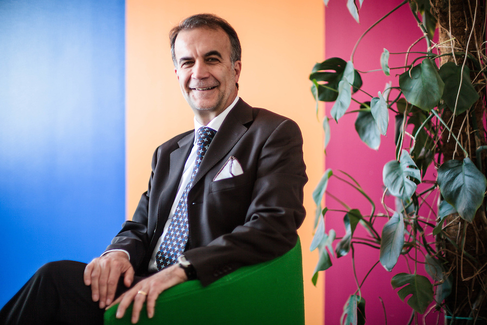 """04 MAY 2012 - Treviso - """"Everris"""", concimi: Paolo Cesca, country manager."""