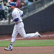 NEW YORK, NEW YORK - MAY 04:  Lucas Duda #21 of the New York Mets rounds the bases after hitting a home run during the Atlanta Braves Vs New York Mets MLB regular season game at Citi Field on May 04, 2016 in New York City. (Photo by Tim Clayton/Corbis via Getty Images)