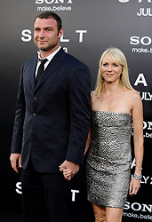 Liev Schreiber and Naomi Watts arriving for the premiere of 'Salt' held at the Grauman's Chinese Theatre in Los Angeles, CA, USA on July 19, 2010. Photo by Lionel Hahn/ABACAPRESS.COM