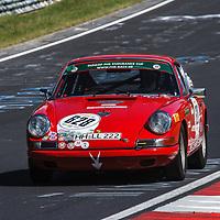 #628, Porsche 912 SWB, ADAC Team Hansa e.V., drivers: Volker Weber, Martin Weber, Div. 1, Class 2, Period E+F, 1300-1600cc, on 21/06/2019 at the ADAC 24h-Classic 2019, Nürburgring, Germany