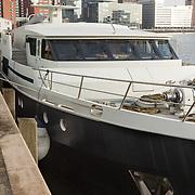 NLD/Rotterdam/20151217 - De Evanna, boot van Gert Verhulst