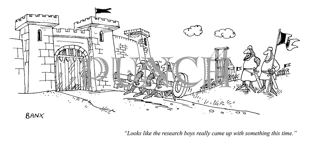 """""""Looks like the research boys really came up with something this time."""""""