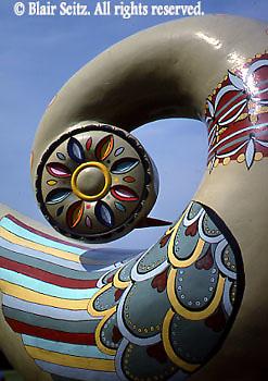 Distelfink sculpture, Heritage Center, Berks Co., PA