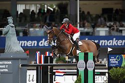 Patteet Gudrun, (BEL), Sea Coast Pebles Z<br /> Furusiyya FEI Nations Cup™ presented by Longines<br /> CHIO Rotterdam 2015<br /> © Hippo Foto - Dirk Caremans<br /> 19/06/15
