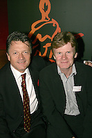 Fran Nevrkla (PPL Chairman and CEO) and John Kennedy CEO and Chairman IFPI.