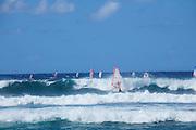 Windsurfing, Hookipa Beach Park, Maui, Hawaii