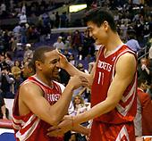 NBA-Houston Rockets at LA Clippers-Apr 7, 2004