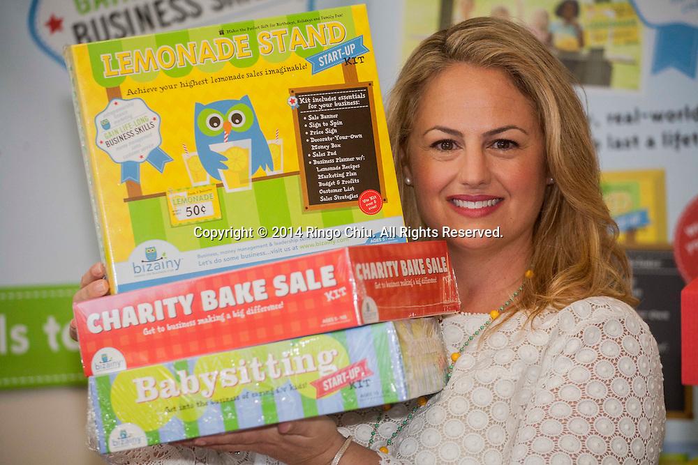 Carolyn Stone Enenstein, founder of toy company Bizainy. (Photo by Ringo Chiu/PHOTOFORMULA.com)