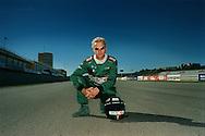 Eddie Irvine, Formula One driver for Jaguar for GQ UK feature story