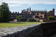 Eton College and Eton College Chapel are pictured on 26 September 2020 in Eton, United Kingdom. There was an outbreak of the coronavirus at Eton College in early September after several students tested positive for Covid-19 upon their return to the school following the summer holidays.