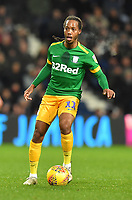 Preston North End's Daniel Johnson <br /> <br /> Photographer Dave Howarth/CameraSport<br /> <br /> The EFL Sky Bet Championship - West Bromwich Albion v Preston North End - Tuesday 25th February 2020 - The Hawthorns - West Bromwich<br /> <br /> World Copyright © 2020 CameraSport. All rights reserved. 43 Linden Ave. Countesthorpe. Leicester. England. LE8 5PG - Tel: +44 (0) 116 277 4147 - admin@camerasport.com - www.camerasport.com