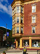 Victorian architecture restored, Broadway, Jim Thorpe, PA