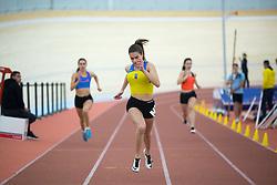 Iza Zakošek competes during day 2 of Slovenian Athletics Indoor Championships 2020, on February 23, 2020 in Novo mesto, Slovenia. Photo by Peter Kastelic / Sportida