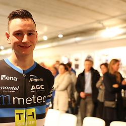 03-02-2017: Wielrennen: Teampresentatie Metec: Arnhem<br />ARNHEM (NED) wielrennen  <br />Dylan Bouwmans