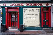 Kehoe's pub, in Temple Bar, on 3rd April 2017 in Dublin, Republic of Ireland. Dublin is the largest city and capital of the Republic of Ireland.