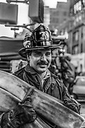Ladder 24. New York Fire Department, NYC, 1987
